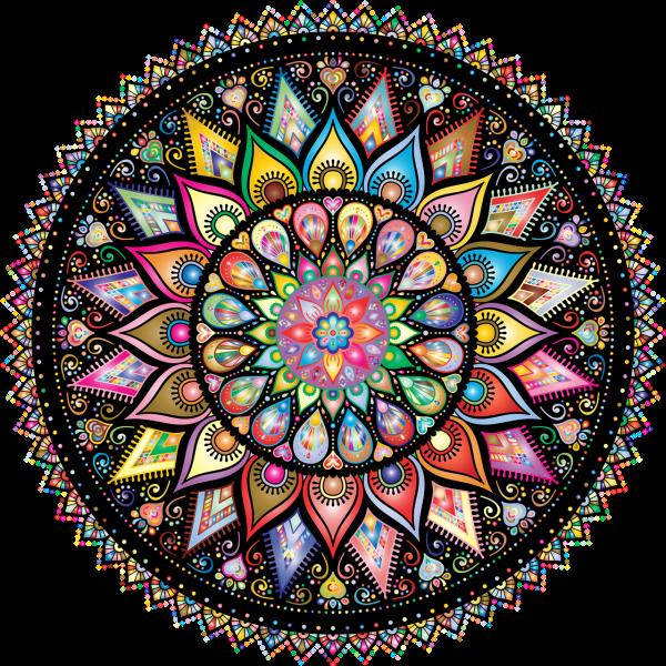 mandalas bienfaits livret à colorier